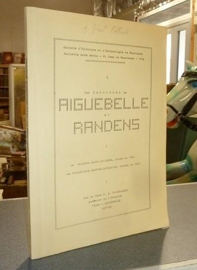 Livre ancien Savoie - Les paroisses de Aiguebelle et Randens - Michelland, Père G. A.