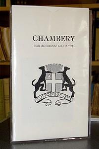 Livre ancien Savoie - Chambéry - Lecoanet Suzanne