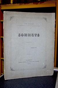 Livre ancien Savoie - Sonnets - Viallet, J.-E.