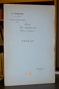 Livre ancien Savoie - Les glaciations des Alpes françaises - Révil