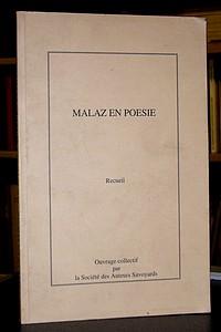 Livre ancien Savoie - Malaz en poésie. Recueil - Collectif