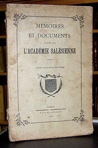 Livre ancien Savoie - Le Collège d'Evian 1574-1907 - Buffet, R. P. Léon
