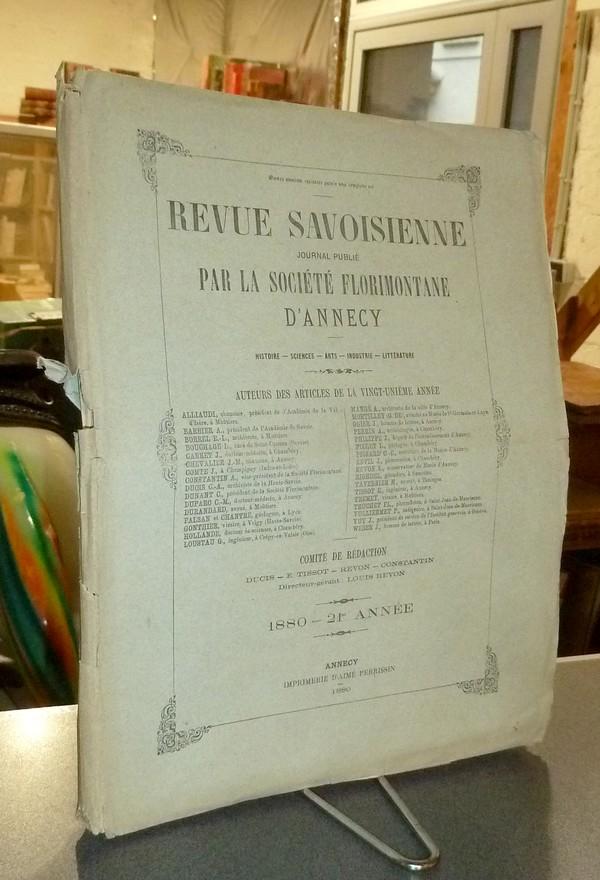 Livre ancien Savoie - Revue Savoisienne, 1880,... - Revue Savoisienne