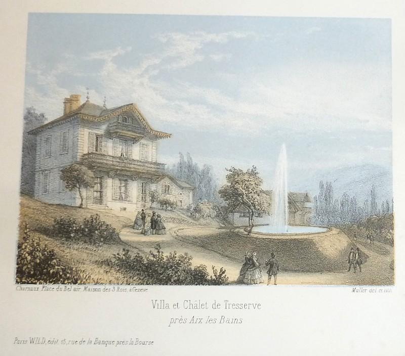 Livre ancien Savoie - Villa et Châlet de Tresserve... - Muller