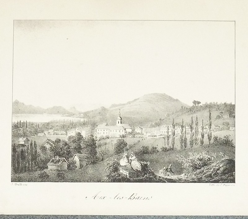 Livre ancien Savoie - Aix-les-Bains (Lithographie) - Dubois, J.