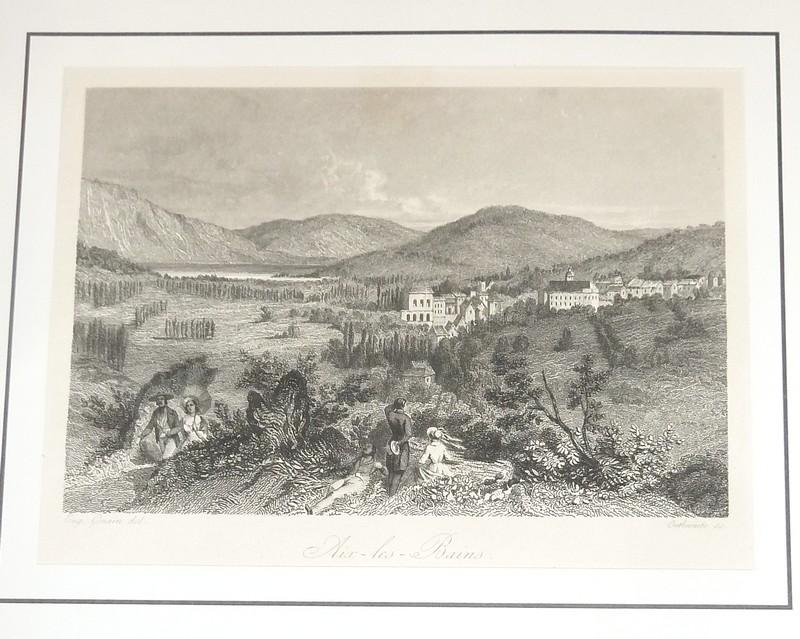 Livre ancien Savoie - Aix-les-Bains (vue prise de... - Ginain Eugène