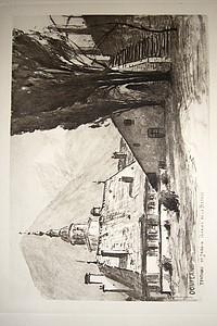 Livre ancien Savoie - Terrasse de la maison Perrier... - Drevet Joanny