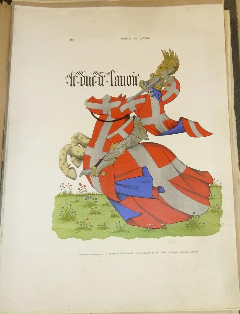 Livre ancien Savoie - Armorial et Nobiliaire de l'Ancien Duché de Savoie (Tome I - 1863) - Foras, Le Cte E. Amédée de