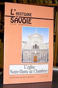 Livre ancien Savoie - L'église Notre-Dame de Chambéry - Soldo Robert
