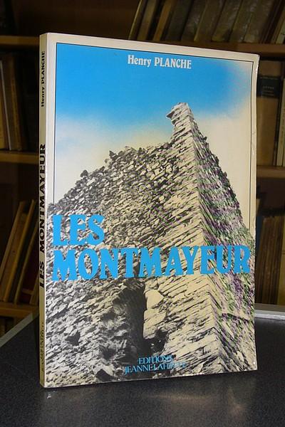 Livre ancien Savoie - Les Montmayeur. Chronique Savoisienne (dédicacé) - Planche Henry