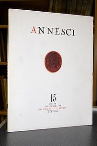 Livre ancien Savoie - Annesci n° 15 - Tourisme et statistiques, Annecy 1890-1967 - Annesci - Pierre Jacquier