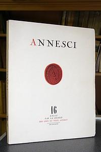 Livre ancien Savoie - Annesci n° 16 - Saint d'Annecy - L'évolution démographique d'Annecy et de... - Annesci - Ganter - Jacquier