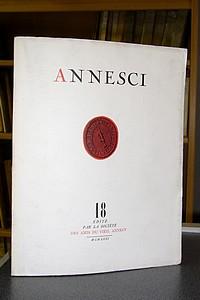 Livre ancien Savoie - Annesci n° 18 - Mélanges littéraires annéciens (1850 - 1900) - Annesci - André Chevallier