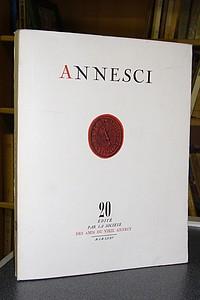 Livre ancien Savoie - Annesci n° 20 - La formation d'une ville, Annecy jusqu'au début du XVIe... - Annesci - Pierre Duparc