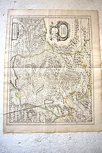 Livre ancien Savoie - Sabaudia Ducatus - Savoye ( entre 1630 & 1637 ) - Blaeuw Guiljelmum (Blaeu)
