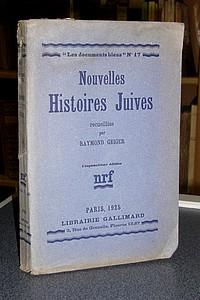 Livre ancien - Nouvelles Histoires Juives - Geiger Raymond