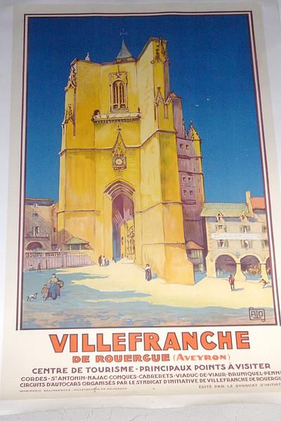 Livre ancien - Villefranche de Rouergue (Aveyron). Centre de Tourisme -... - Alo