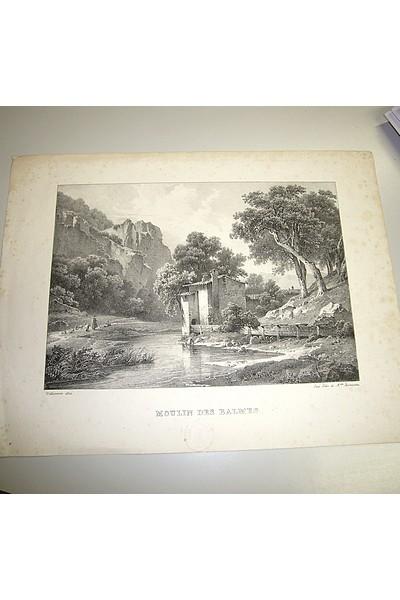 Livre ancien Savoie - Moulin des Balmes - Villeneuve