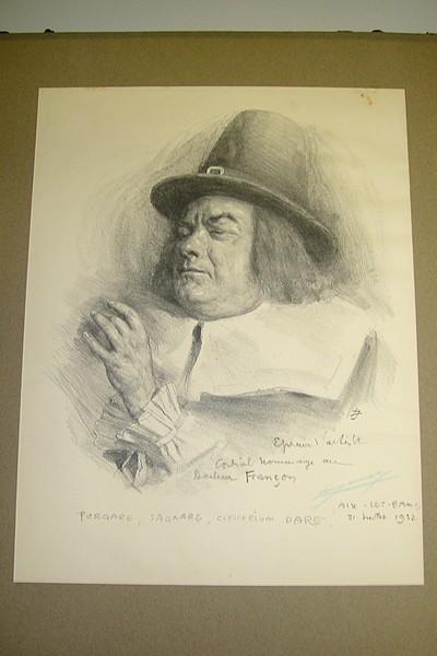 Livre ancien Savoie - Hommage au Docteur Françon. Purgare, Sagnare, Clyserium dare - Anonyme
