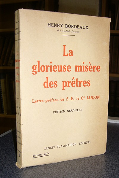 Livre ancien Savoie - La glorieuse misère des prêtres - Bordeaux, Henry