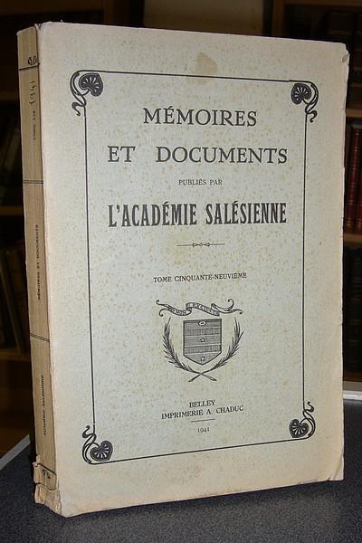 Livre ancien Savoie - Histoire de la Collégiale de Sallanches et de ses annexes : Argentière -... - Coutin F.