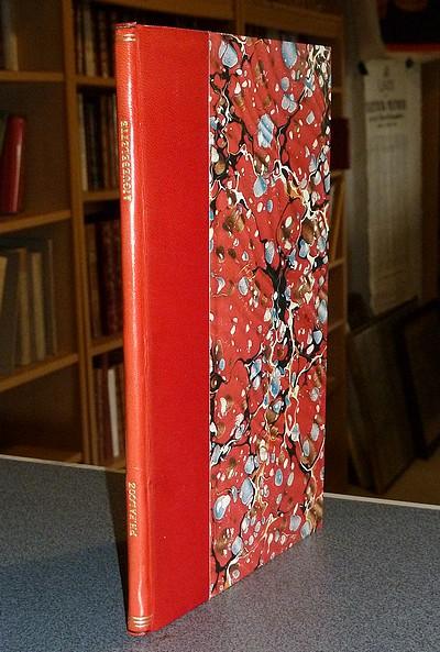 Livre ancien Savoie - Notice sur Aiguebelette et son lac - Falcoz Philibert