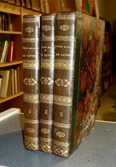 Livre ancien Savoie - Mémoires Historiques sur la Maison Royale de Savoie et sur les Pays soumis à... - Marquis Costa de Beauregard