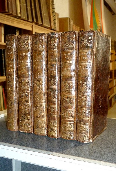 Livre ancien - Elémens de Chymie (6 volumes, 1754) - Boerhaave, Herman