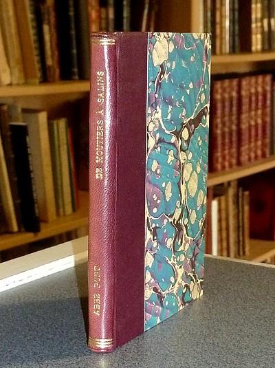 Livre ancien Savoie - De Moutiers à Salins, Promenade philosophique, Descriptive - Pont, l'Abbé