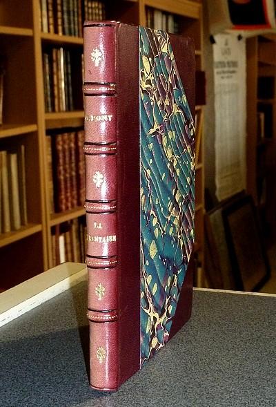 Livre ancien Savoie - La Tarentaise, Historique, Monumentale, Orographique et Pittoresque, avec notes... - Pont, Chanoine l'Abbé G.