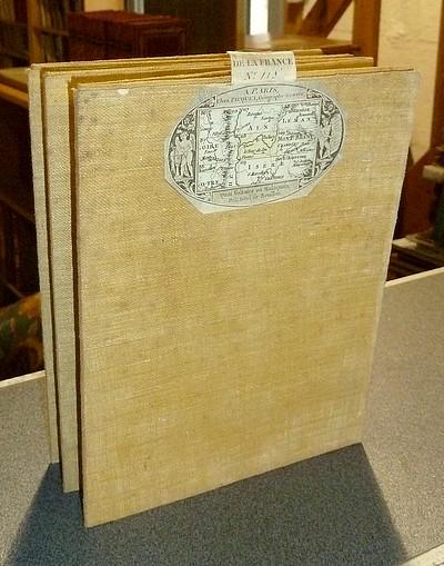 Livre ancien Savoie - Carte de l'Académie dite de Cassini N° 118 Belley - Cassini (Famille Cassini de Thury)