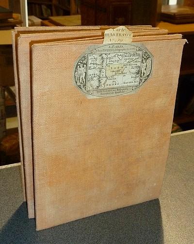 Livre ancien Savoie - Carte en couleurs de l'Académie dite de Cassini N° 119 Grenoble - Cassini (Famille Cassini de Thury)
