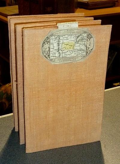 Livre ancien Savoie - Carte de l'Académie dite de Cassini N° 117 Bourg-en-Bresse - Cassini (Famille Cassini de Thury)