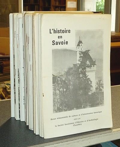 Livre ancien Savoie - L'Histoire en Savoie. Tête de série du n° 1 de janvier 1966 au n° 57 de... - Collectif