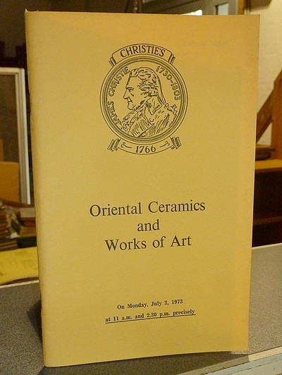 Oriental Ceramics and Works of Art. Christie's, July 2, 1973 -