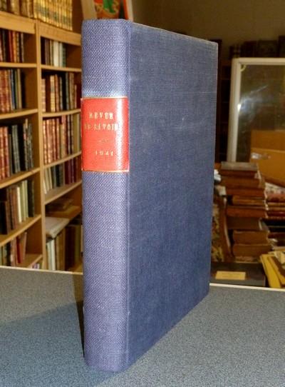 Livre ancien Savoie - Revue de Savoie. Reliure de la 1re année, 1941, du n° 1 au 5 (Noël) - Revue de Savoie