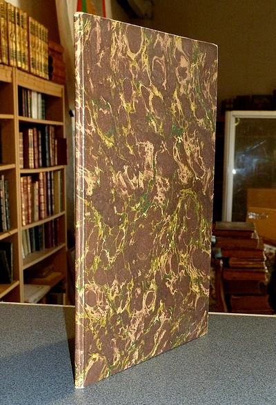 Livre ancien Savoie - Notice Historique sur le Vignoble de Princens - Grange, Joseph