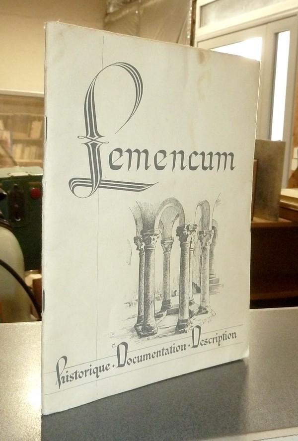 Livre ancien Savoie - Lemencum. L'église priorale de Lémenc, Histoire et description (Exemplaire de... - Perret, André