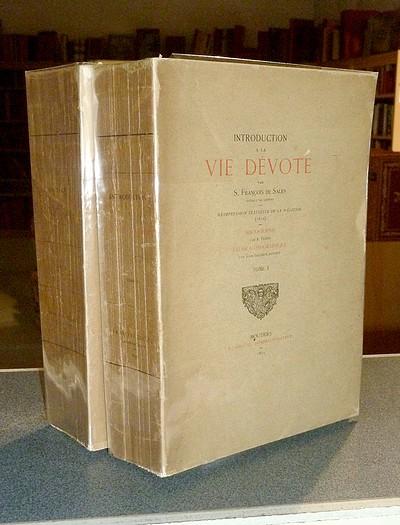 Livre ancien Savoie - Introduction à la Vie dévote - De Sales (Évêque de Genève), François