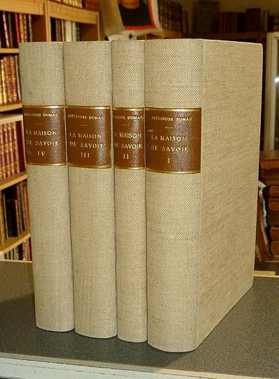 Livre ancien Savoie - La Maison de Savoie. Roman historique - Dumas Père, Alexandre