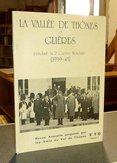Livre ancien Savoie - La Vallée de Thônes et Glières pendant la 2e Guerre Mondiale... -
