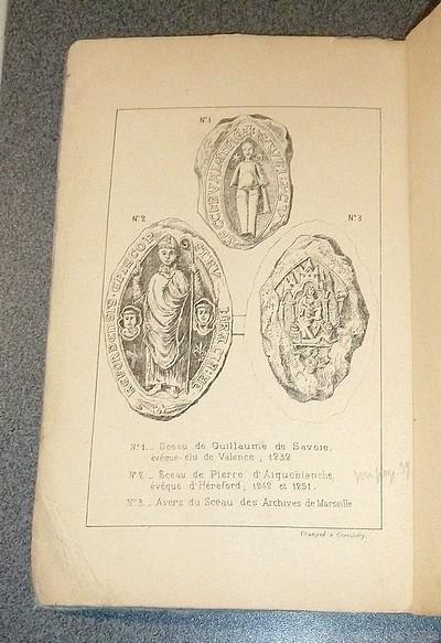 Livre ancien Savoie - Les savoyards en Angleterre au XIIIe siècle et Pierre d'Aigueblanche, Evèque... - Mugnier, François