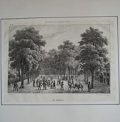 Livre ancien Savoie - Le Gigot, promenade. Souvenir... - Fonville (Nicolas Victor) 1805-1856, V.