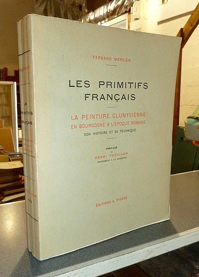 Livre ancien - Les Primitifs français. La Peinture clunysienne en... - Mercier, Fernand