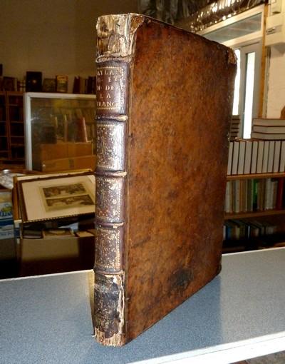 Livre ancien - Atlas Géographique et Militaire de la France, divisé en... - Cassini de Thury (César-François Cassini, dit Cassini III)