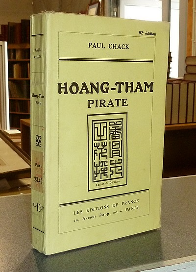 livre ancien - Hoang-Tham Pirate - Chack, Paul