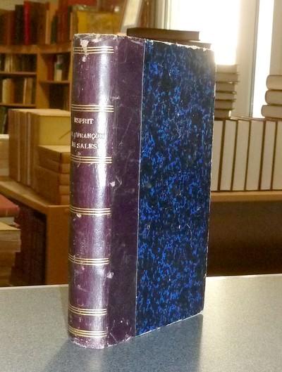 Livre ancien Savoie - Esprit de Saint François de Sales - Camus (Evêque de Belley), Mgr Jean-Pierre