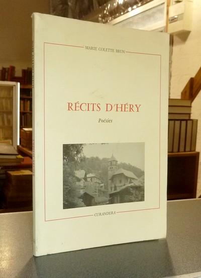 Livre ancien Savoie - Récits d'Héry, poésies - Brun, Marie Colette