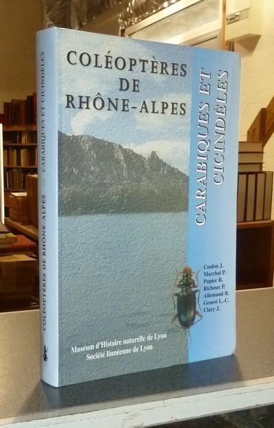 Livre ancien Savoie - Coléoptères de Rhône-Alpes. Carabiques et Cicindèles - Coulon, J. & Marchal, P. & Pupier, R. & Richoux, P. & Allemand, R. & Genest, L.-C. & Clary, J.