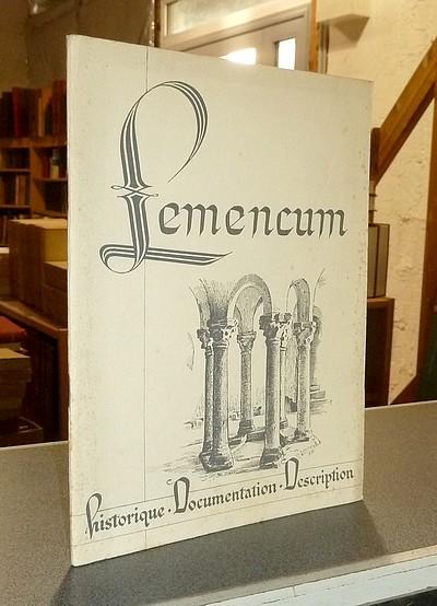 Livre ancien Savoie - Lemencum. L'église priorale de Lémenc. Histoire et description - Perret, André